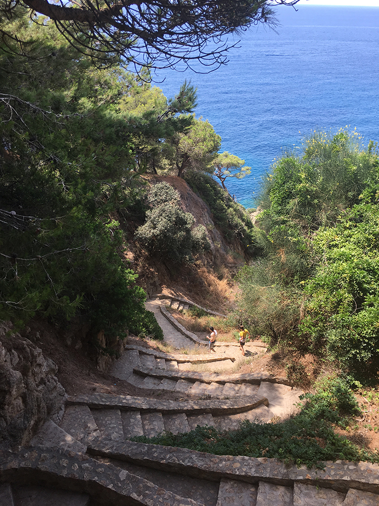 Trekking in Lloret de Mar Catalonia Spain