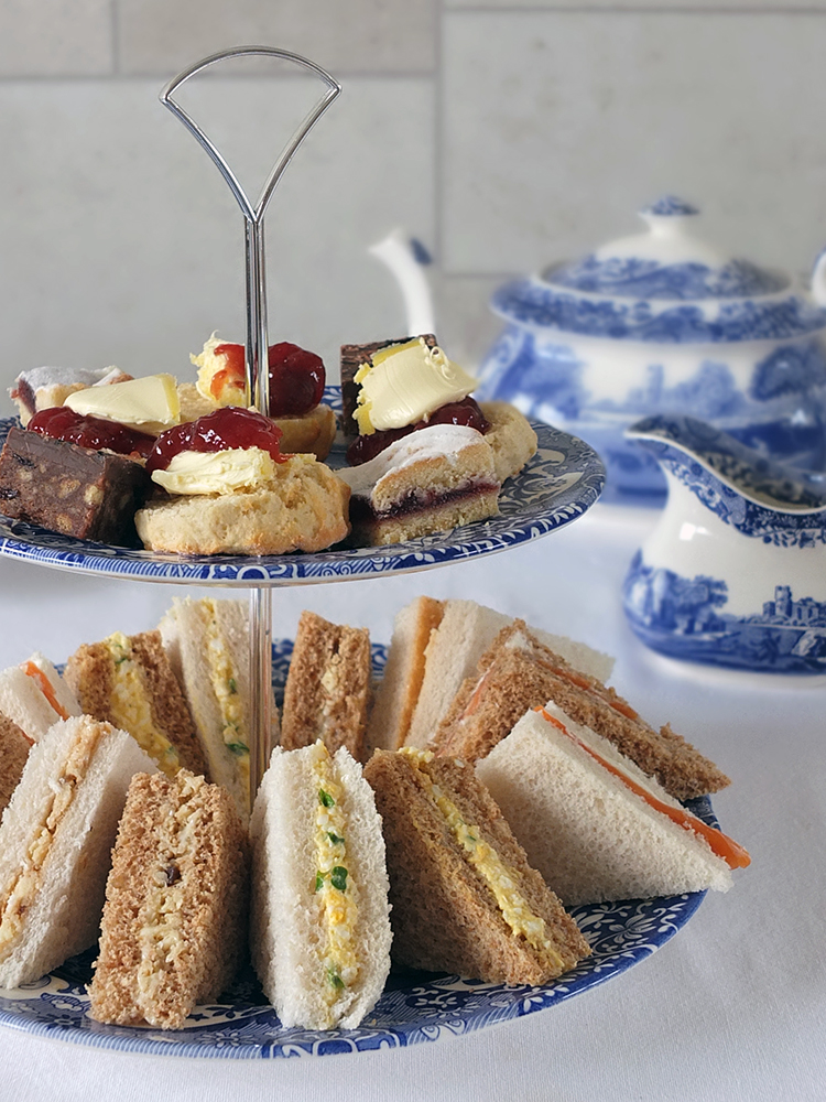 A Trio Of Sandwiches For Afternoon Tea Elizabeth S Kitchen Diary