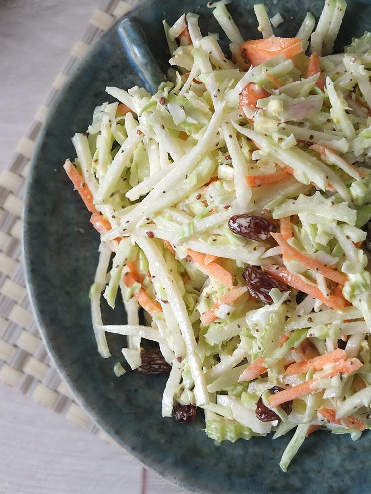 Kohlrabi Coleslaw