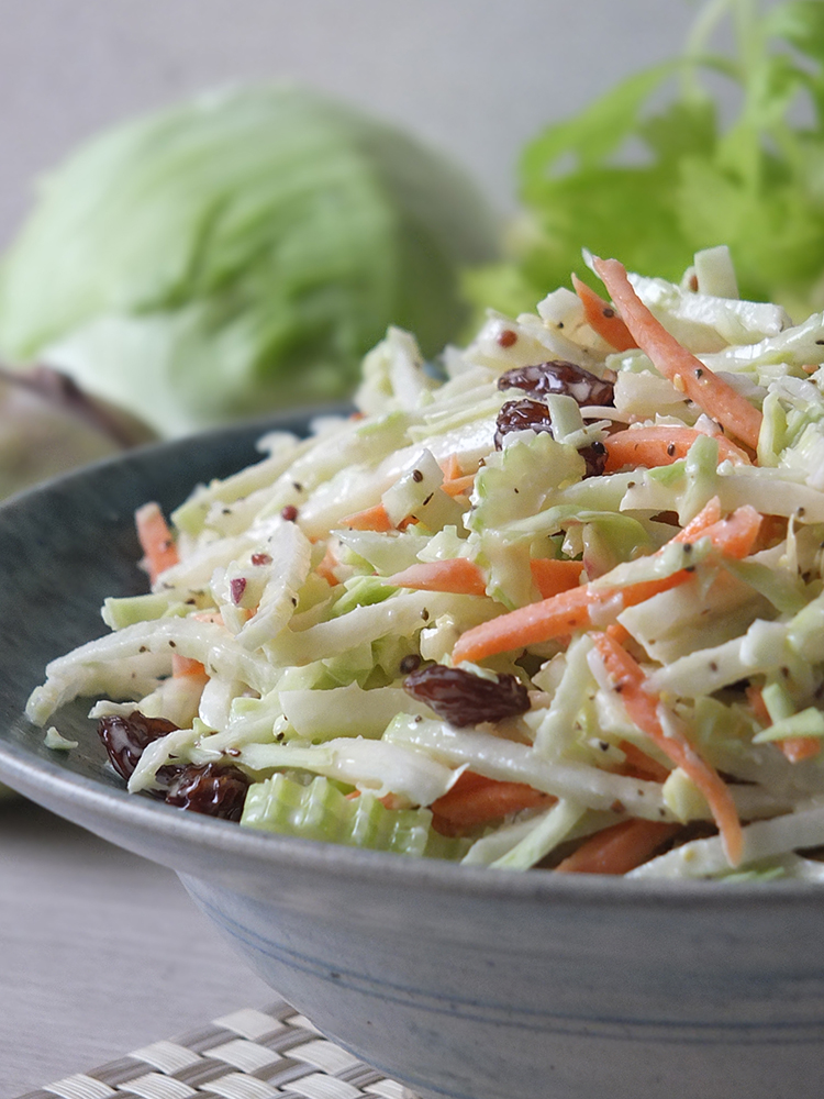 Quick Easy 5 Minute Kohlrabi Coleslaw Elizabeth S Kitchen Diary
