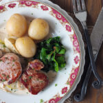 Pan-Seared Pork Medallions with Apples & Fried Sage