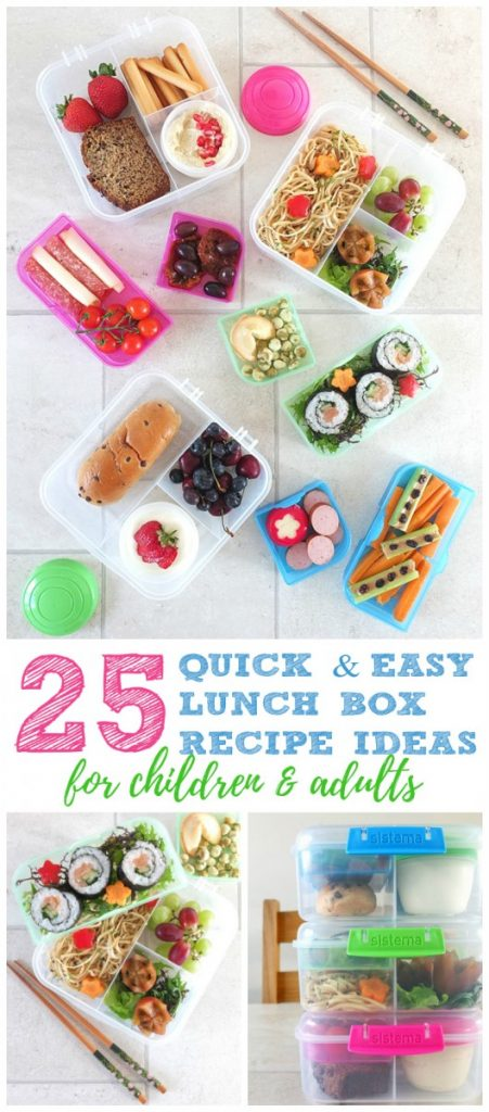 25 Easy Lunch Box Recipe Ideas