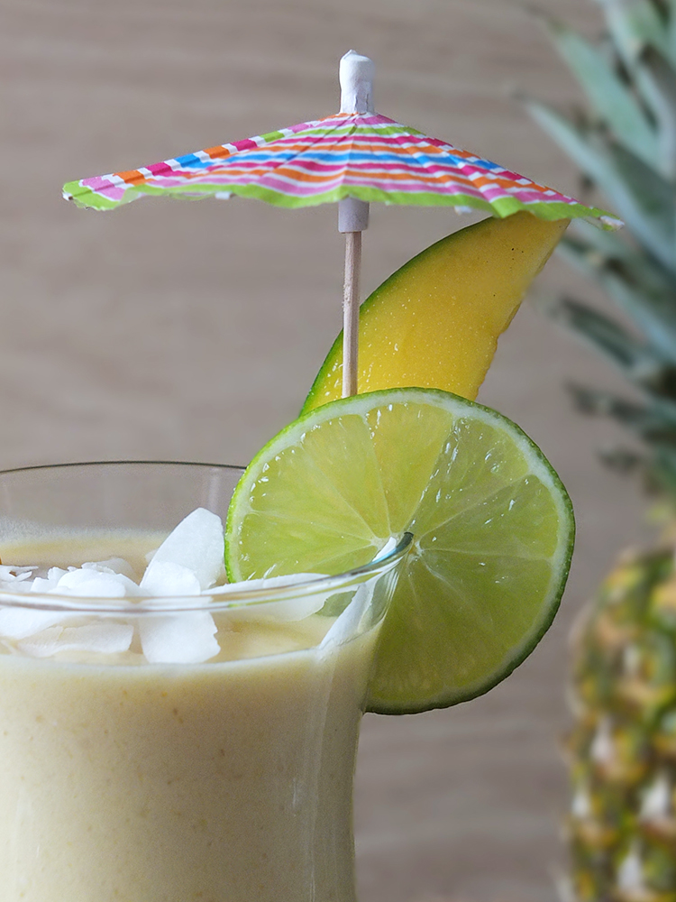 Caribbean Crush Post-Workout Protein Smoothie