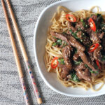 Chilli Lemongrass Lamb Stir Fry