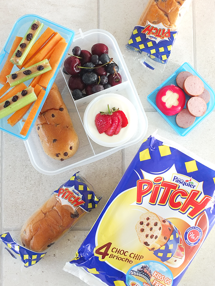 Lunch Box Idea Brioche Pasquier