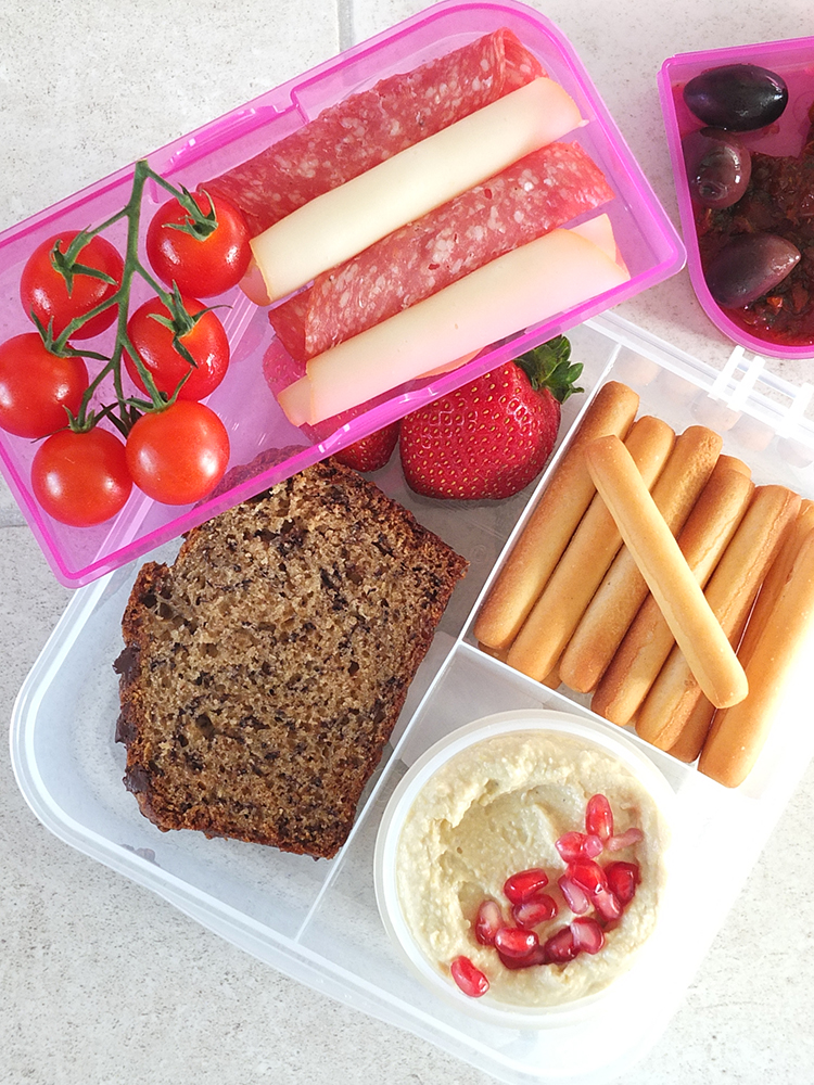 Lunch Box Idea Italian-Inspired
