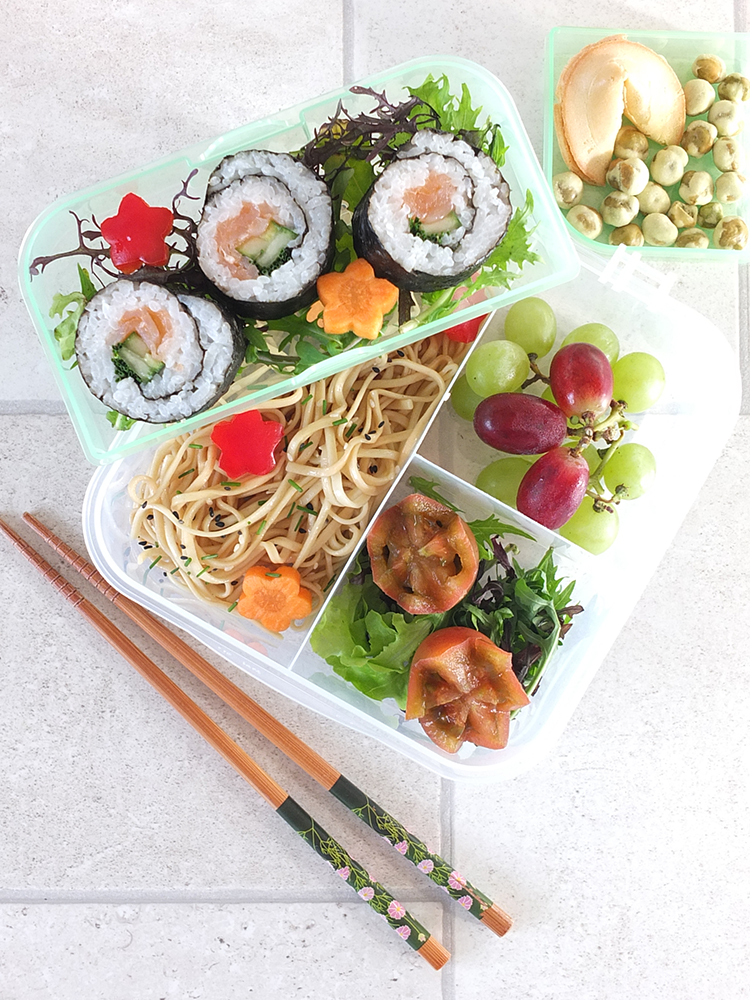 Lunch Box Idea Japanese Inspired