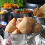 Indian Tapas: Lamb, Pea & Potato Mini Samosas