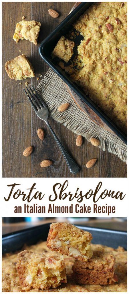 Torta Sbrisolona Italian Almond Cake Recipe