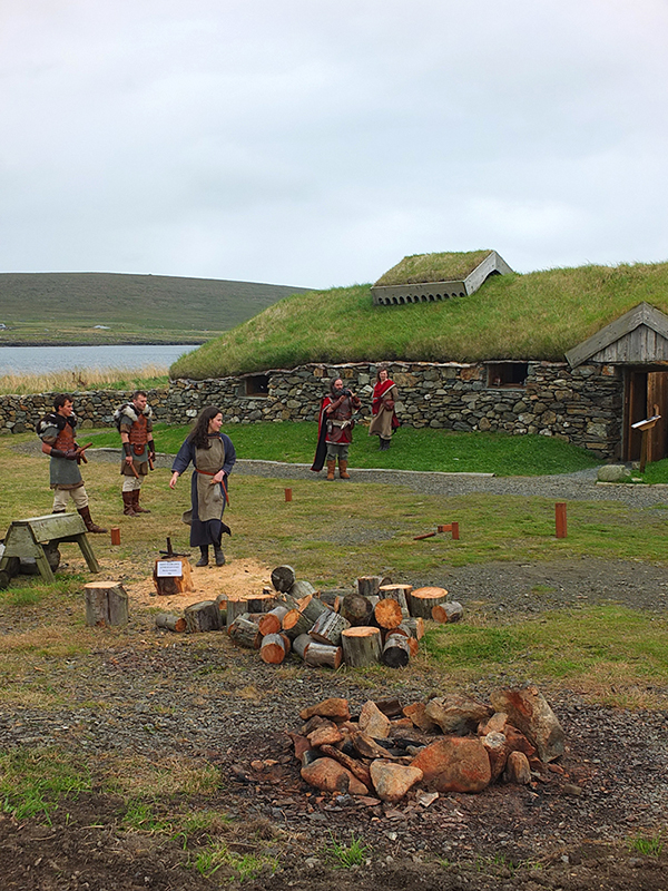 Unst Viking Festival - Playing Viking Kubb