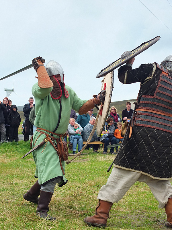 Unst Viking Festival Walhalla Vikings Battle Reenactment