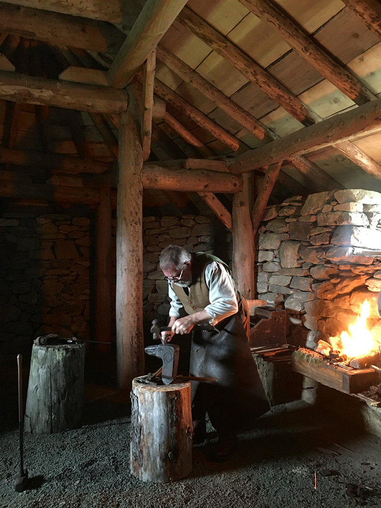 Unst Viking Festival 2017 - Viking Blacksmithing Forging