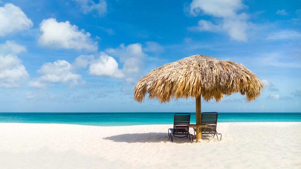 Aruba Beach via Shutterstock