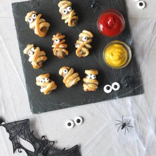Spooky Halloween Sausage Roll Mummies with Lamb