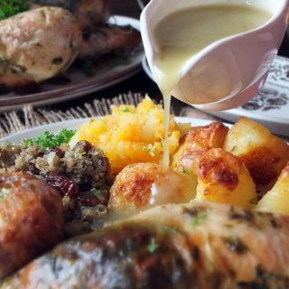 The Ultimate Roast Chicken Dinner