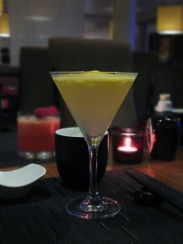 Spicy Mangotini Sushi on Five Celebrity Equinox Review