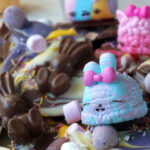 Num Noms-inspired Easter Chocolate Bark