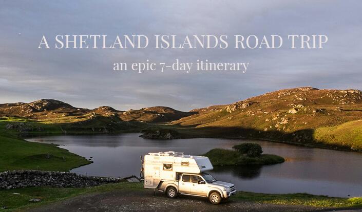 Image of Shetland Islands Road Trip Itinerary.