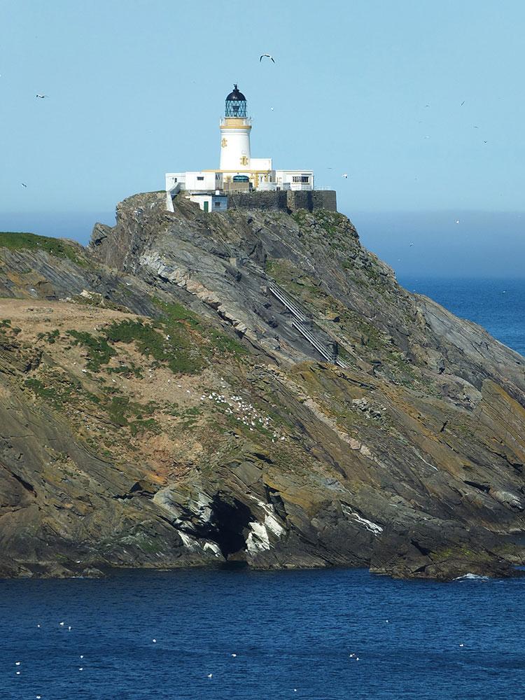 Image of the Muckle Flugga Lighthouse Unst, Shetland.