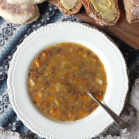 Shetland Reestit Mutton Soup Recipe