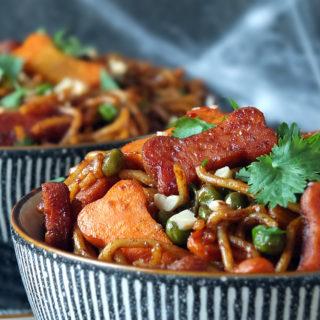 Halloween Stir-Fry Recipe