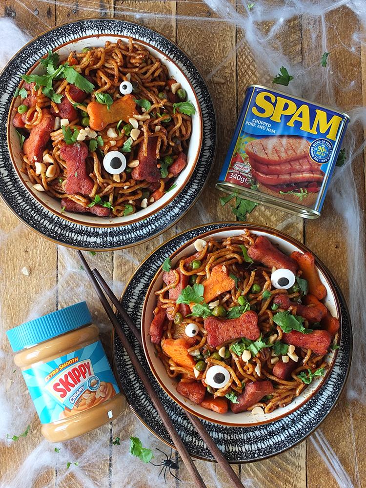 SPAM and SKIPPY recipe