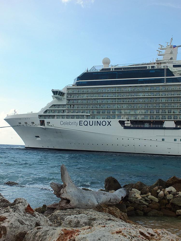 Celebrity Equinox in Curacao 2017