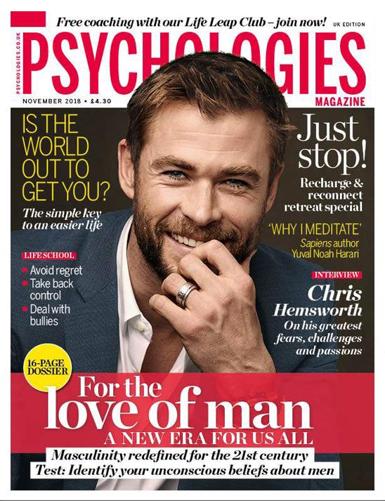 Psychologies magazine November 2018