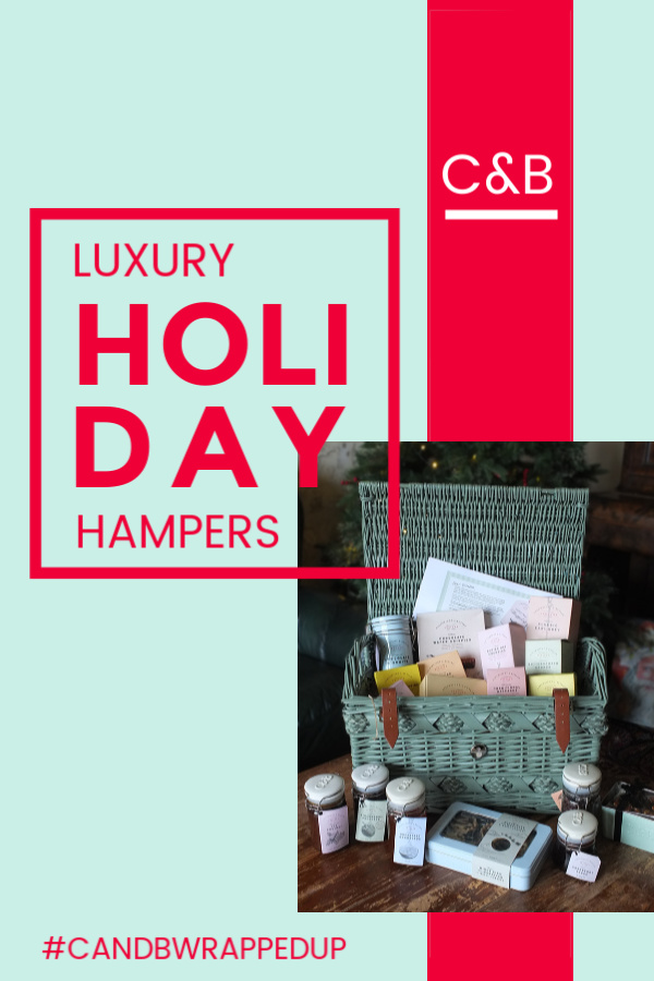 Cartwright & Butler luxury hampers #candbwrappedup