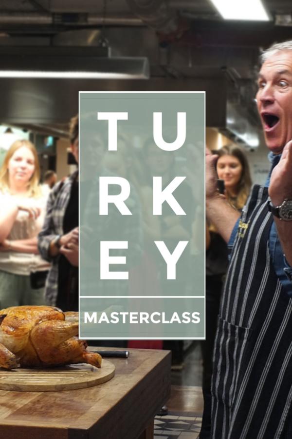 Eight easy steps to the perfect roast turkey, in under 3 hours! #turkey #roast #christmasturkey #thanksgiving #jamieoliver