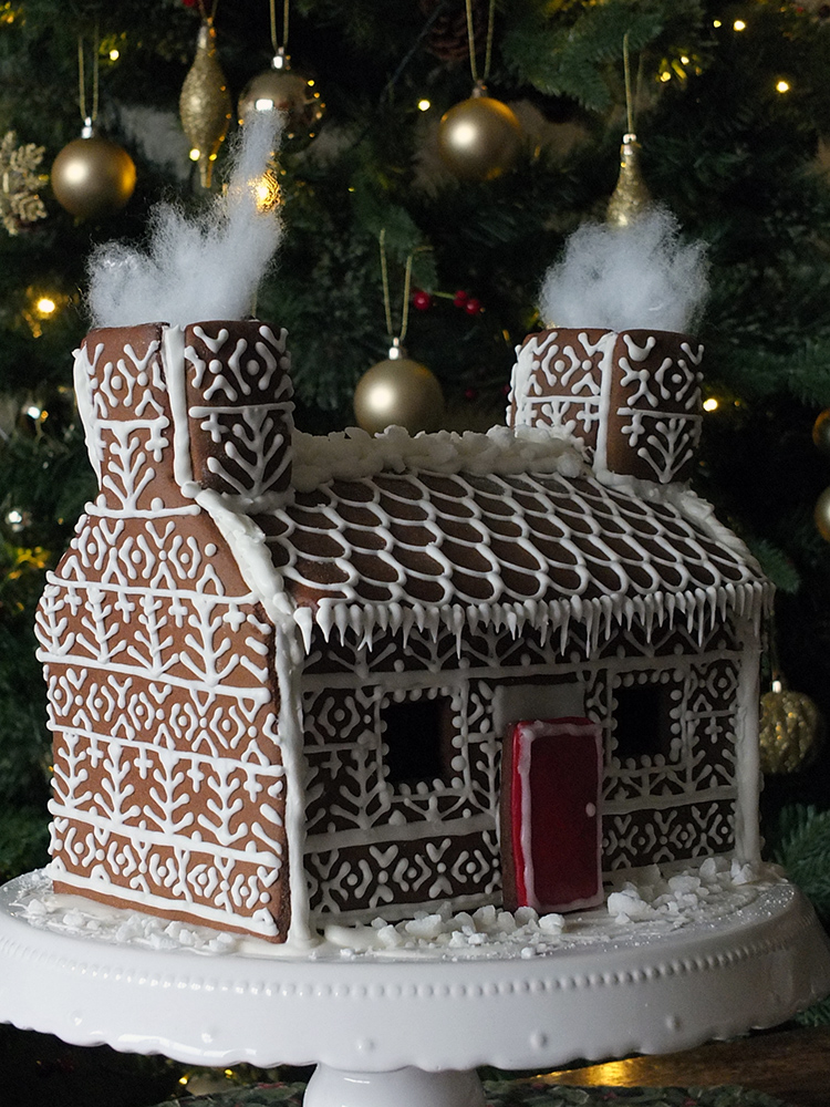 Shetland Croft Gingerbread House