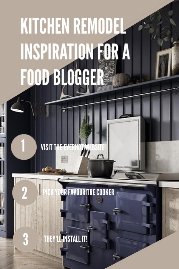 Kitchen Remodel Inspiration #rangecooker #everhot #homerenovation #homedecor