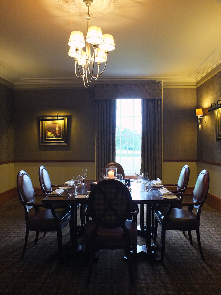 Meldrum House dining table