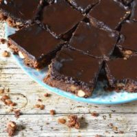 Cinnamon Coconut Chocolate Crunch - A Traybake with Attitude