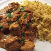 Slow Cooker Chicken Pasanda Curry