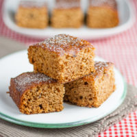 Easy Ginger Cake - Egg and Dairy Free!