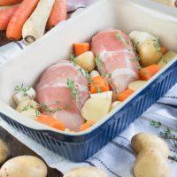 Easy One-Tray Roast Chicken