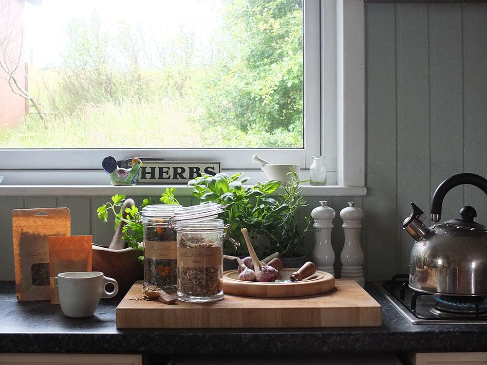 Herbal Teas from Shetland-based Island Botanicals. #medicalherbalism #herbaltea