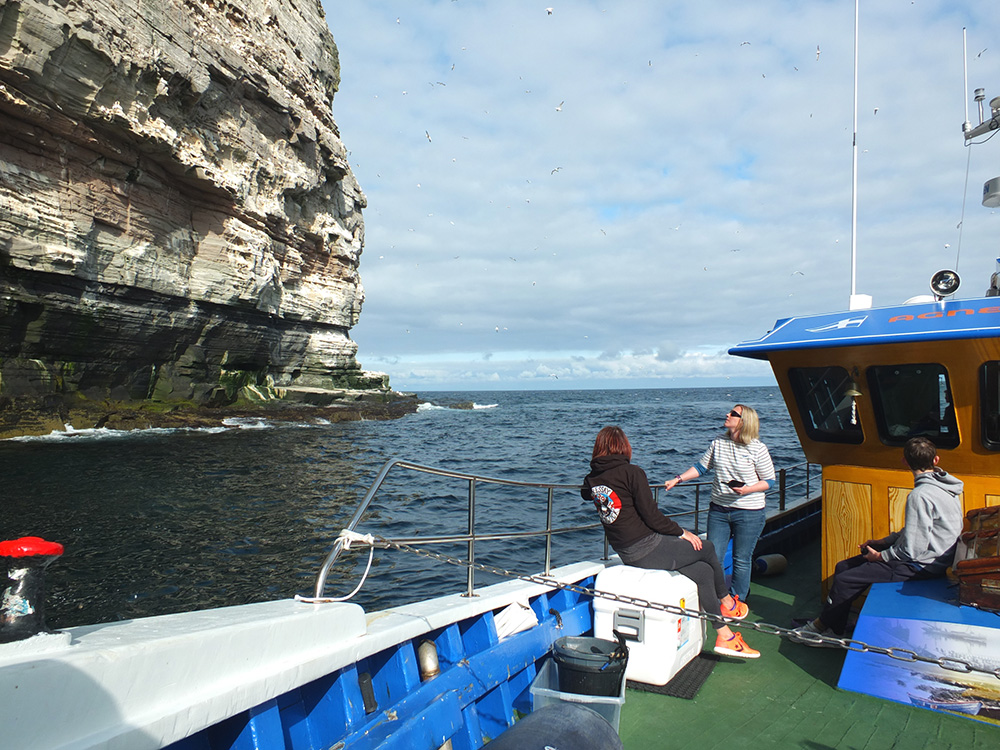 Agnes Kay II Noss Tour Shetland Boat Week