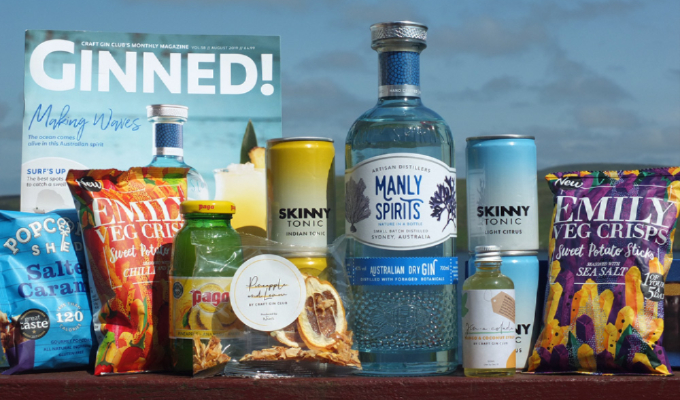 Craft Gin Club Box – Review & Giveaway