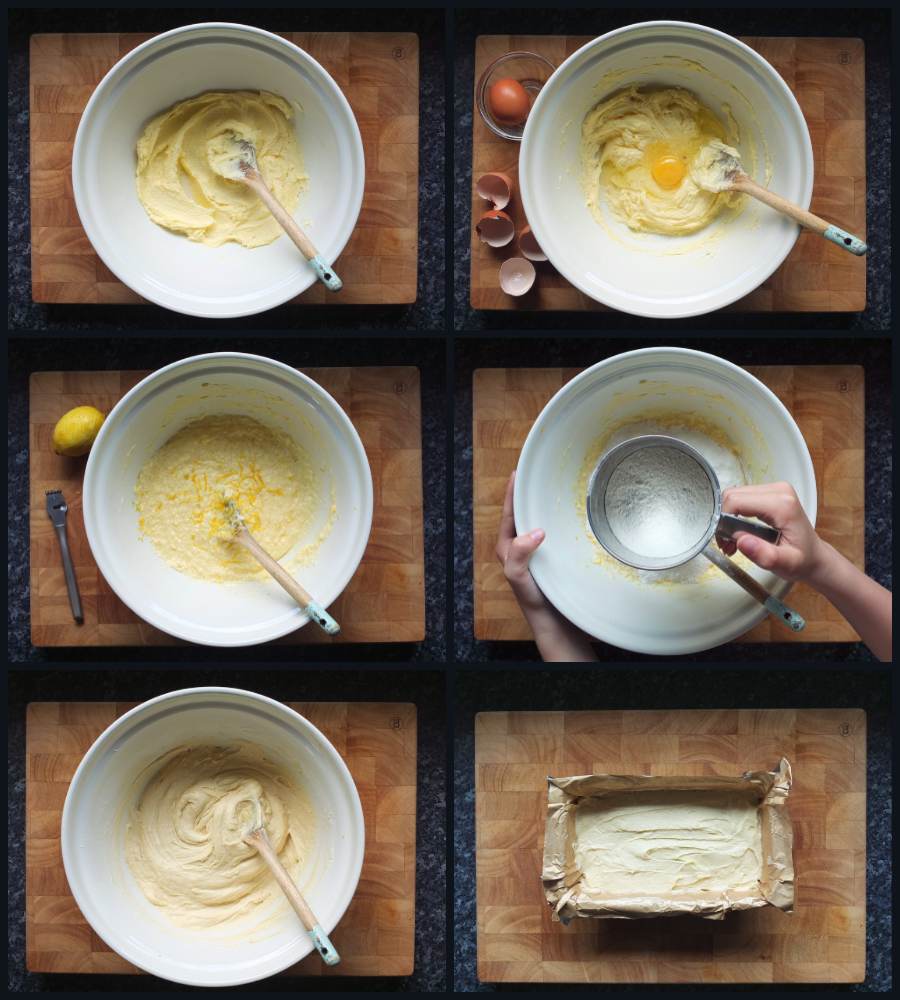 How to make a Madeira loaf cake for trifle - step by step image