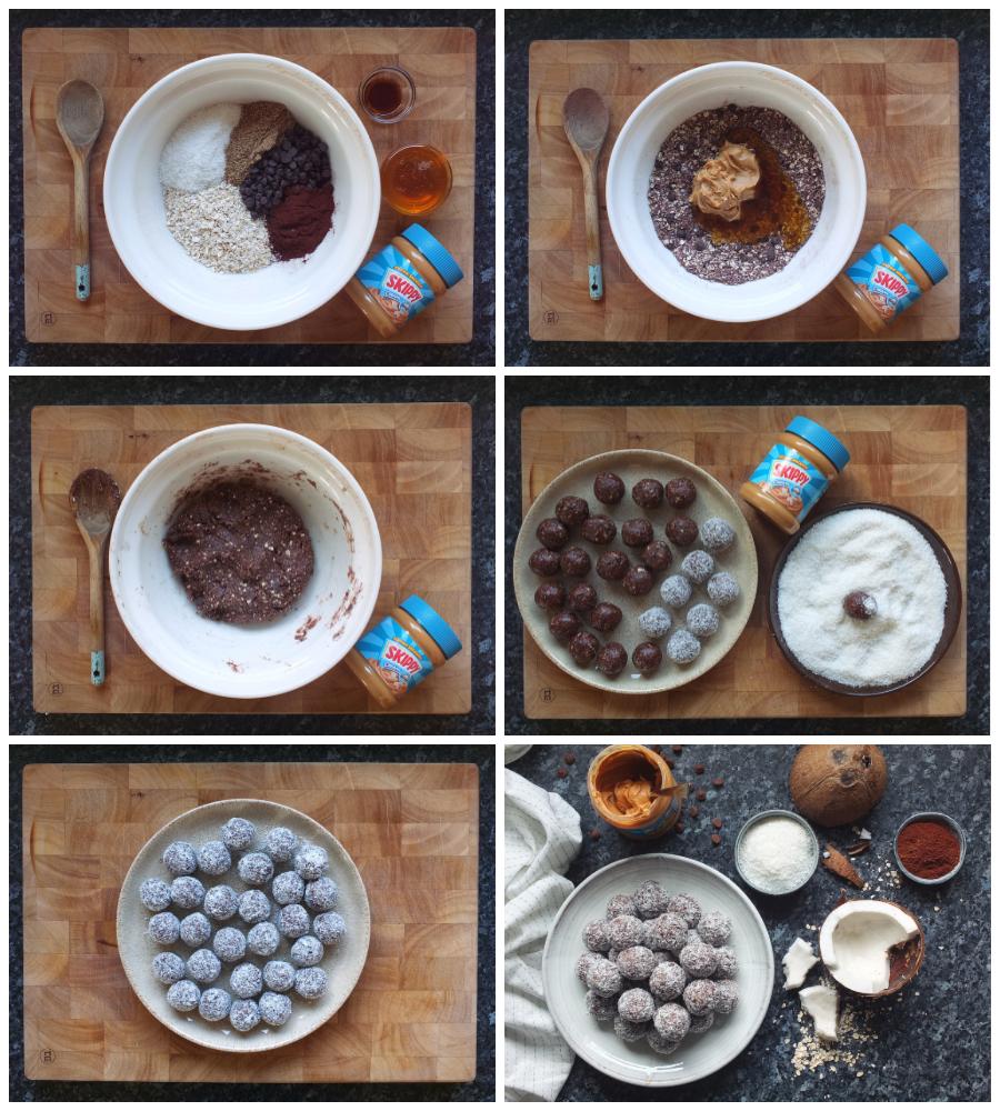 How to make no bake peanut butter balls