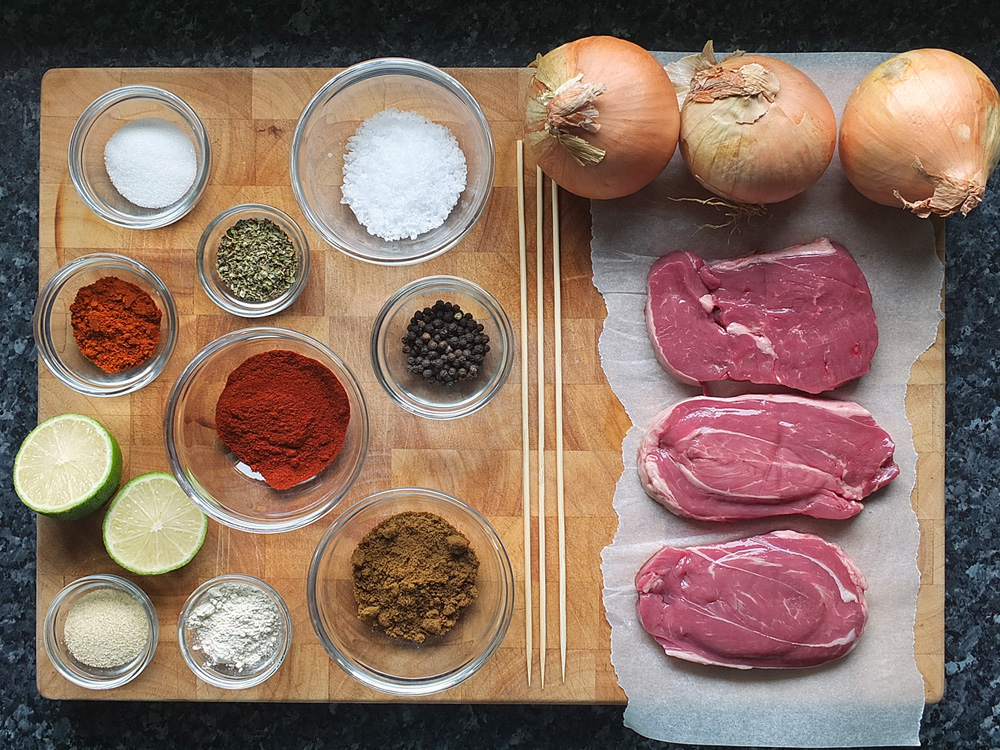 Ingredients for Lamb Fajitas image