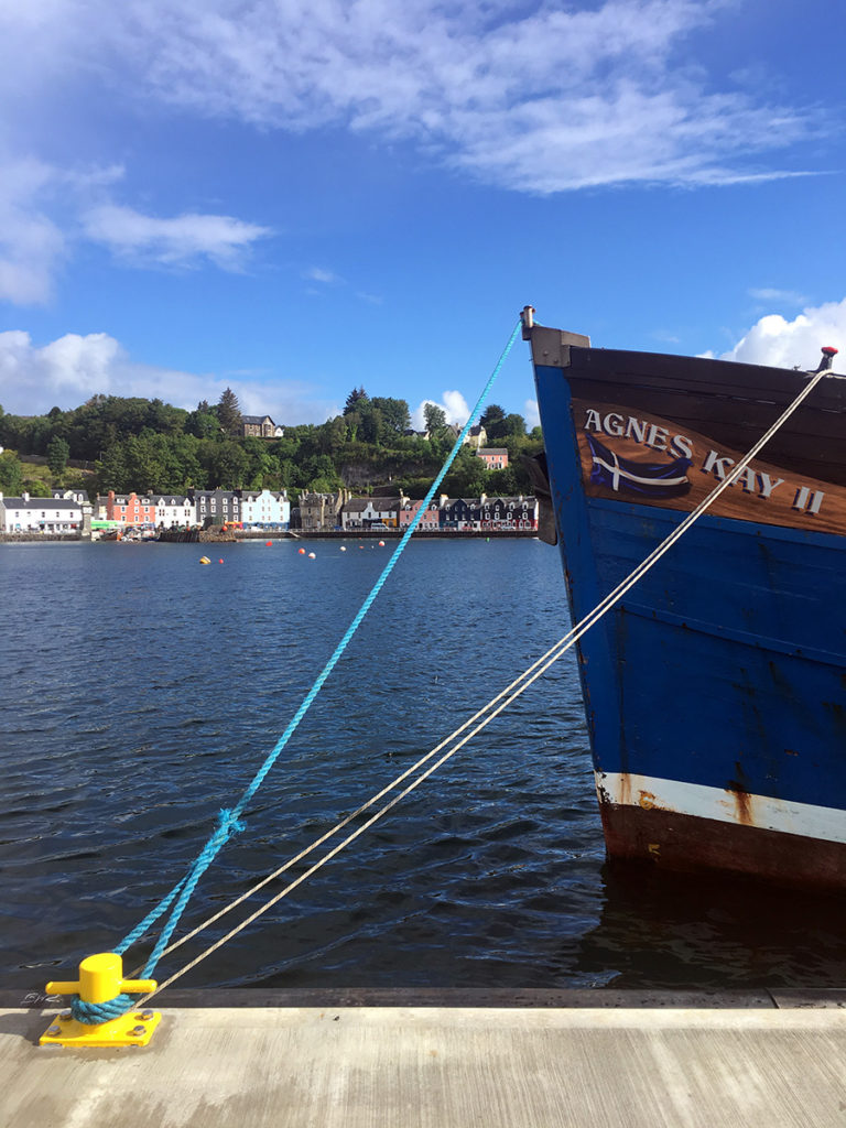 Agnes Kay Charters in Tobermory 1