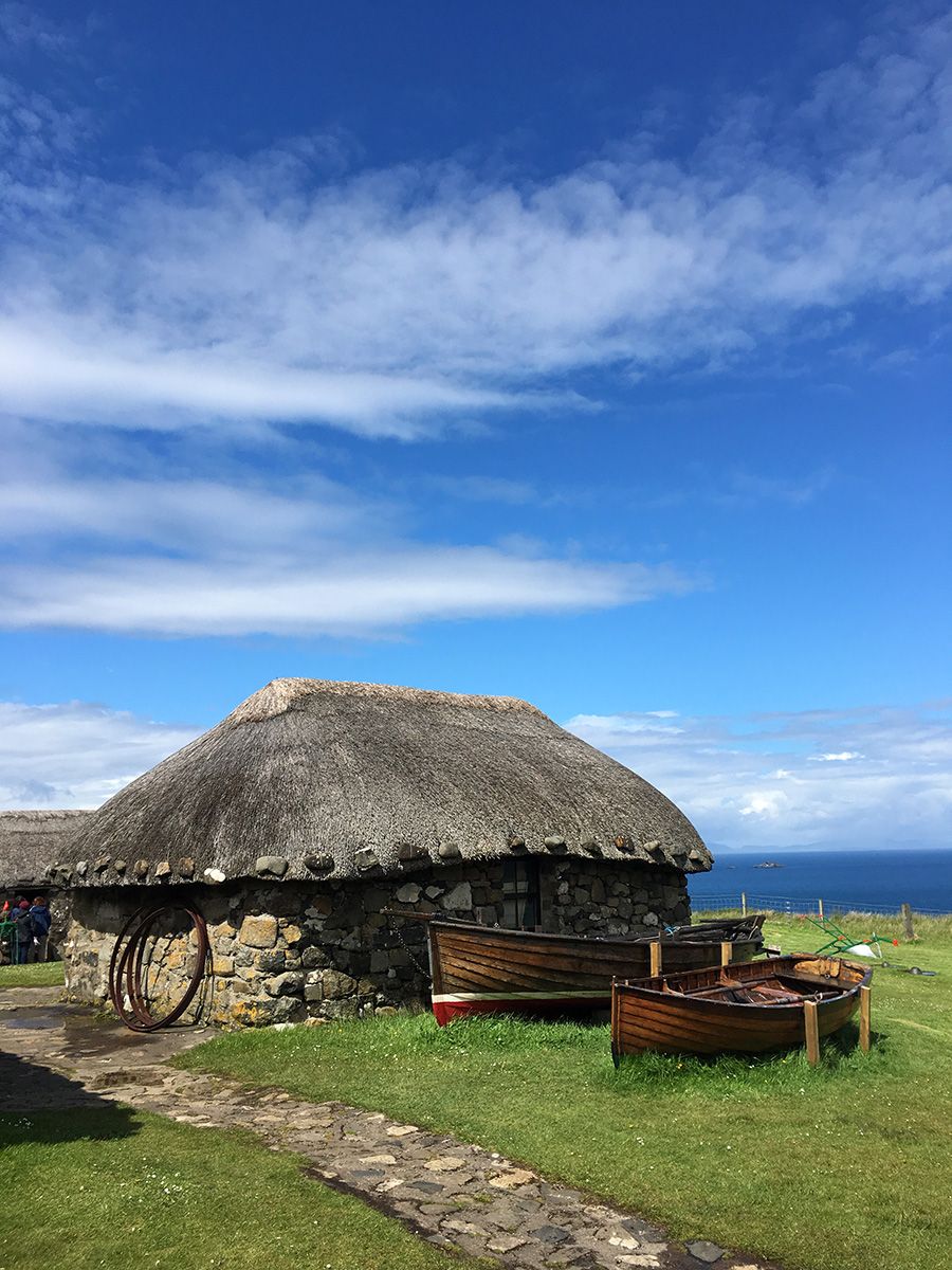 Blackhouse on Skye #skye #blackhouse #innerhebrides #scotland