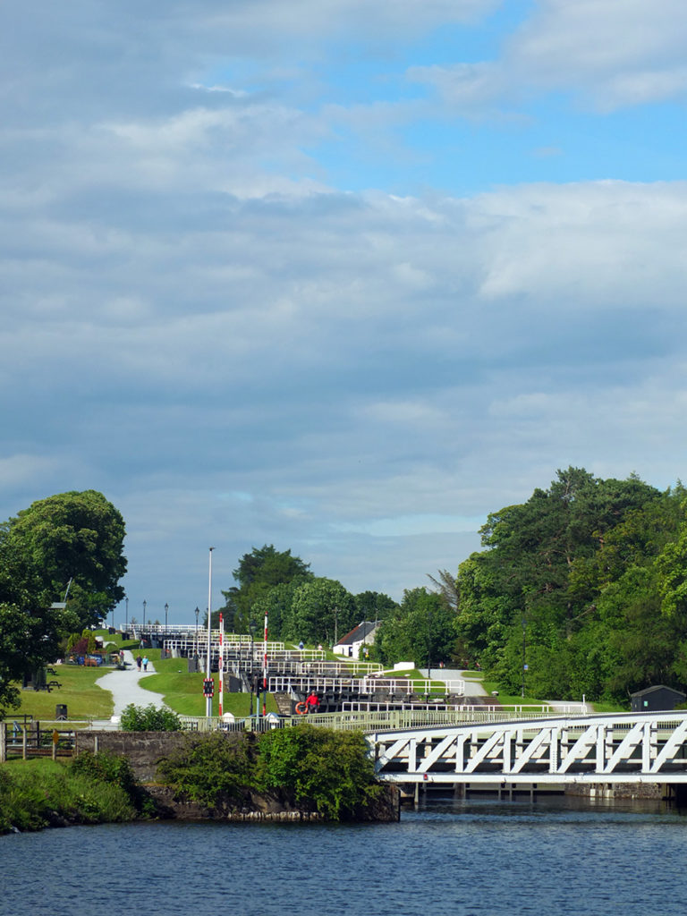 Neptunes Staircase Caledonian Canal Scotland image