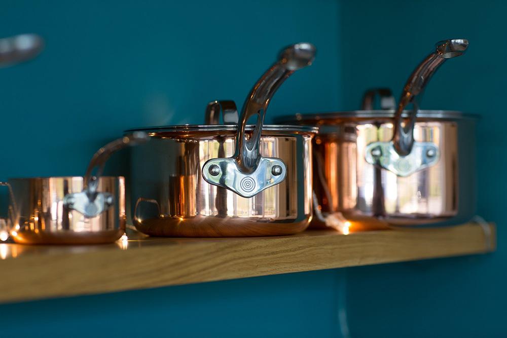 ProWare Copper Tri-Ply pans set image