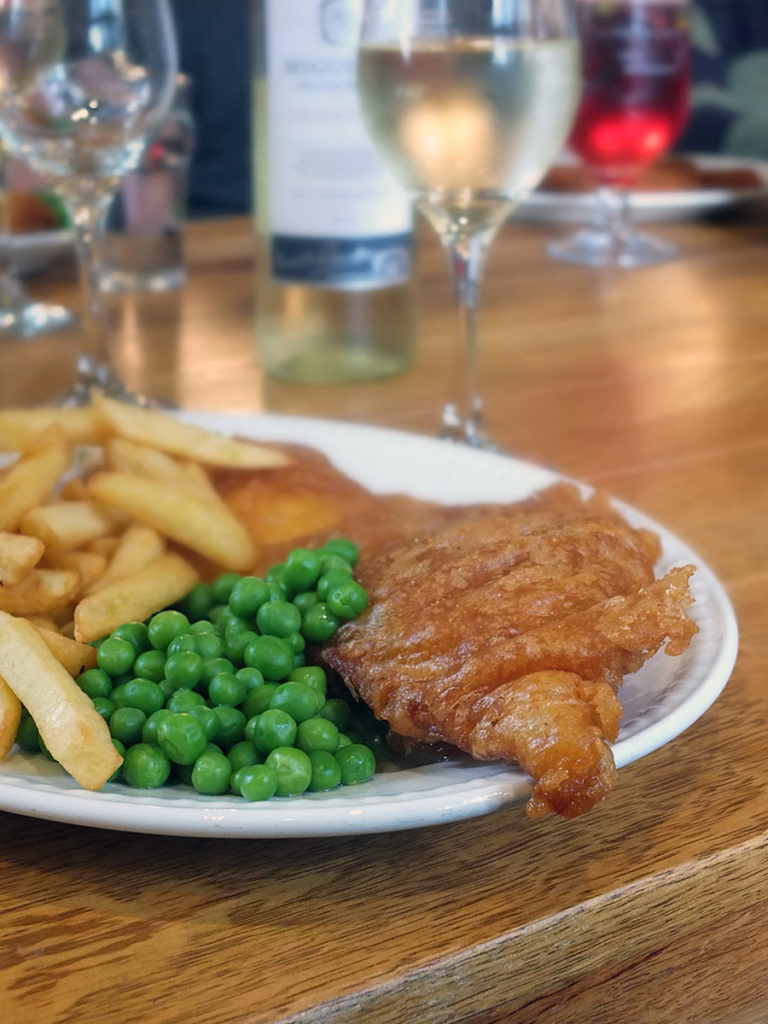 Scottish fish and chips image