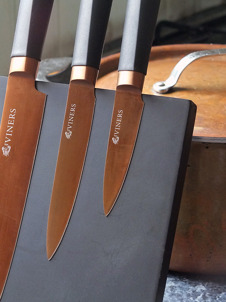 Viners Titan Copper Knife Set image