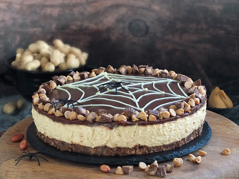 No-Bake SKIPPY® Peanut Butter Cheesecake